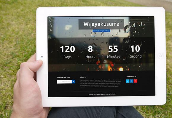 Wijayakusuma - PSD & ランディング ページ HTML