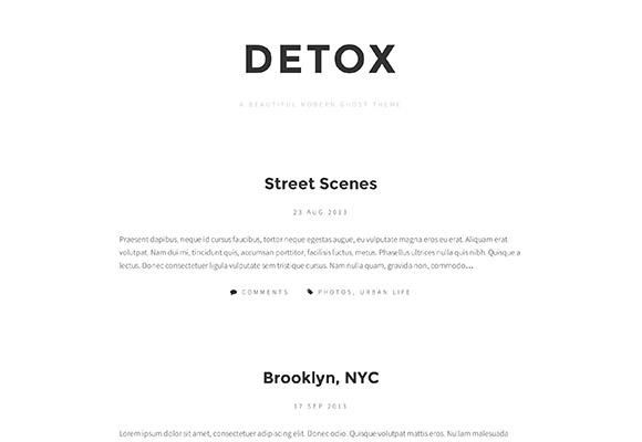 デトックス - 無料の幽霊のテーマ